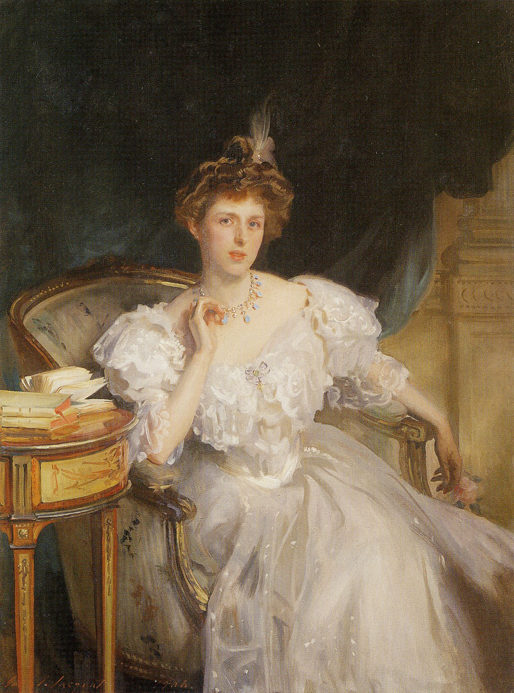 John Singer Sargent - Mrs William George Raphael