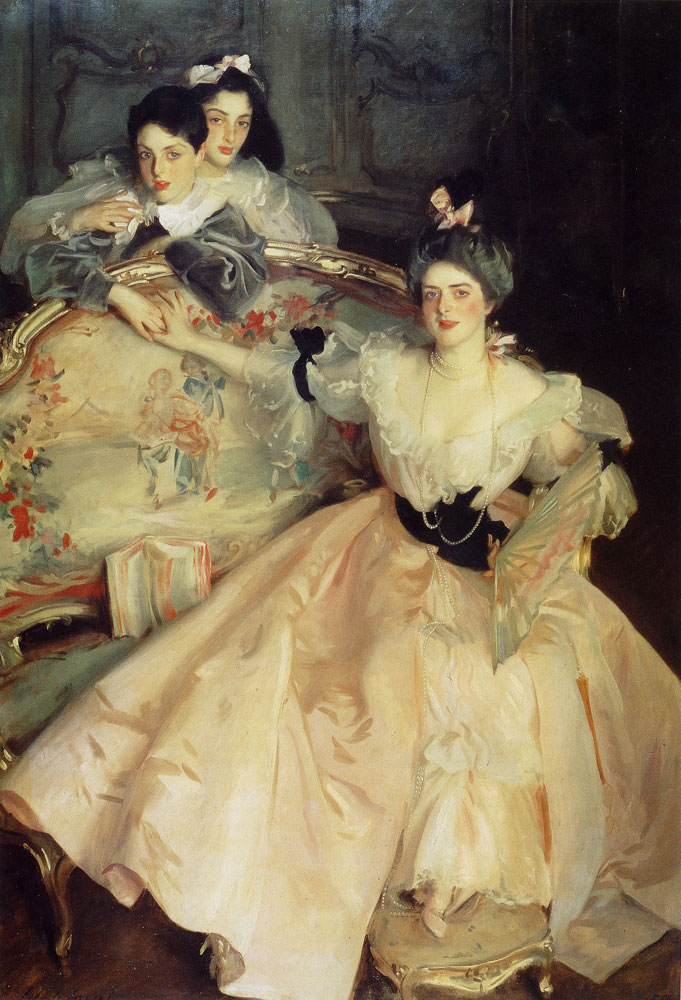 John Singer Sargent - Mrs Carl Meyer and her children