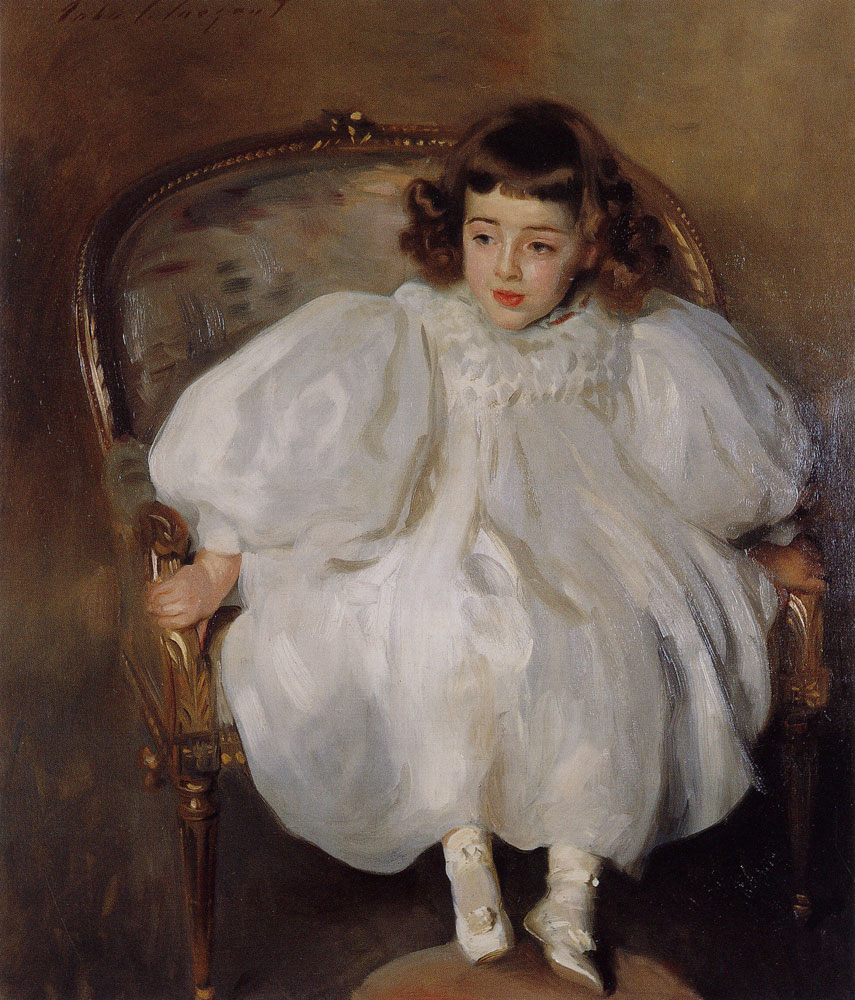 John Singer Sargent - Frances Winifred Hill or Expectancy