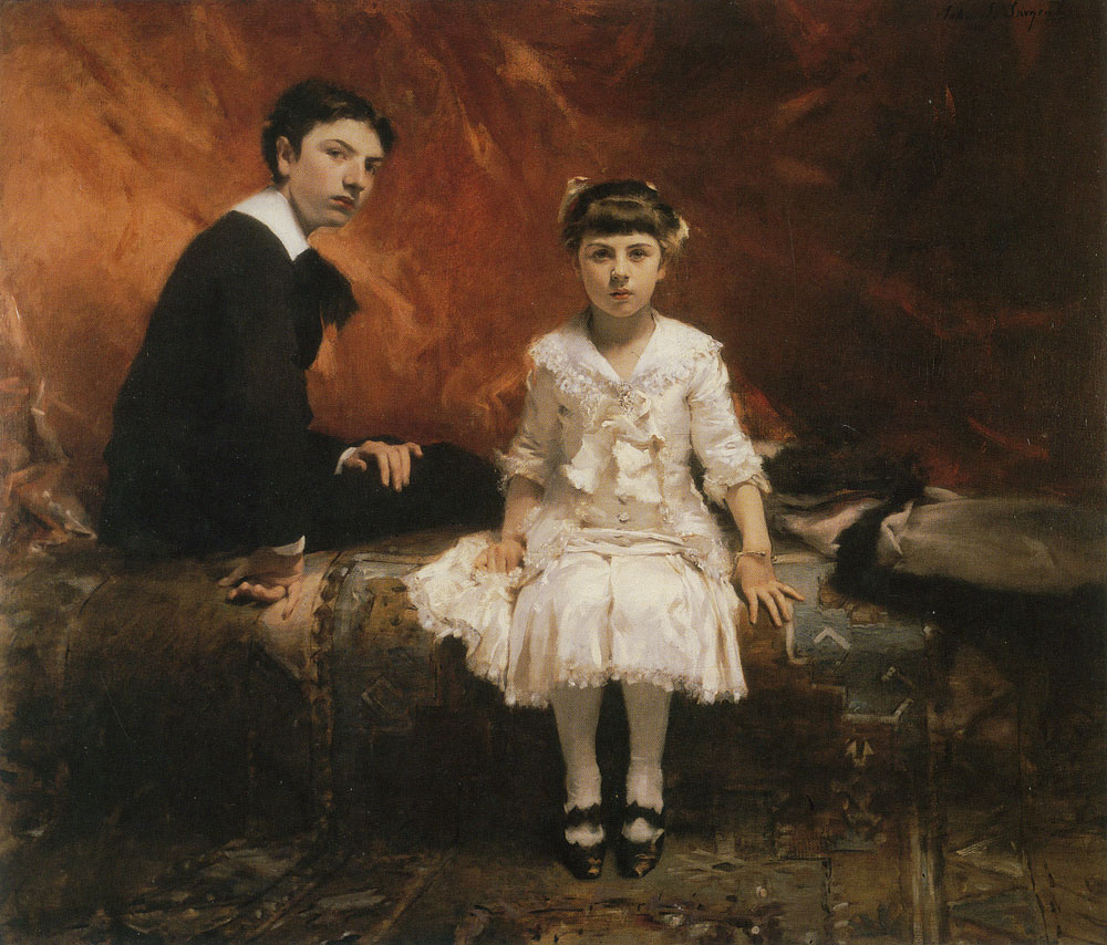 John Singer Sargent - The Pailleron Children