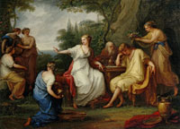 Angelica Kauffmann - The Sorrow of Telemachus