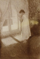 Edvard Munch The Girl by the Window