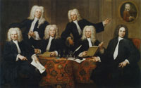 Jan Maurits Quinkhard The headmen of the Surgeons Guild