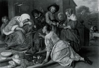Jan Steen The Effects of Intemperance
