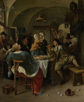 Jan Steen Family Scene