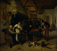 Jan Steen Two Kinds of Games