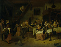 Jan Steen Peasant Wedding