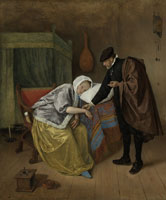 Jan Steen The Sick Woman