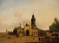 Jan ten Compe The Haarlemmer Gate