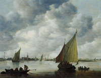 Jan van Goyen View on the Kaag
