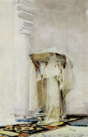 John Singer Sargent Incensing the Veil