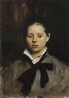 John Singer Sargent Portrait of a Young Girl