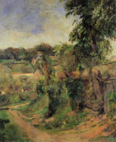 Paul Gauguin Near Rouen