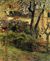 Paul Gauguin Rouen, Spring