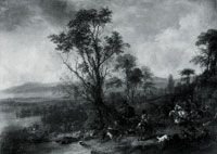 Philips Wouwermans A Stag Hunt