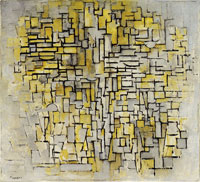 Piet Mondrian Tableau No. 2 / Composition No. VII