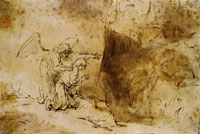 Rembrandt The Vision of Daniel