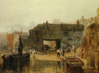 J.M.W. Turner Saltash with the Water Ferry, Cornwall