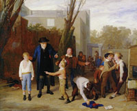 William Mulready The Fight Interrupted
