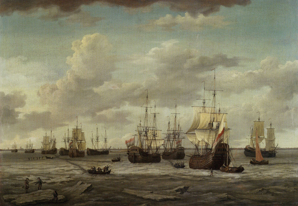 Adam Silo - Whalers in the Frozen Port of Amsterdam