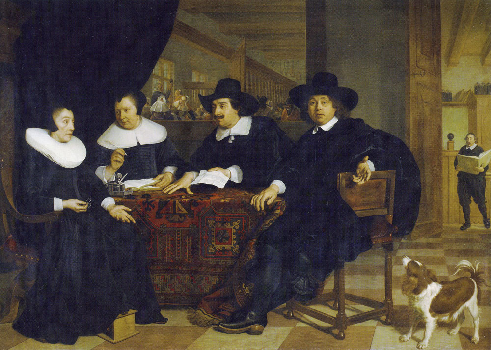 Bartholomeus van der Helst - Two Governors and two Lady Governors of the Spinhuis