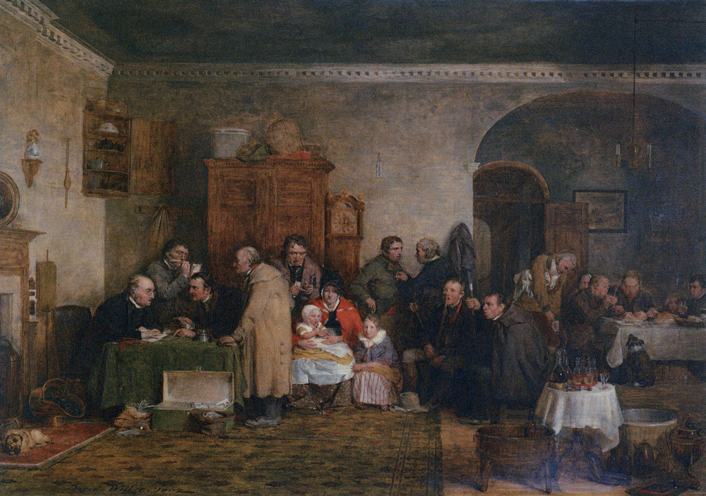 David Wilkie - The Rent Day