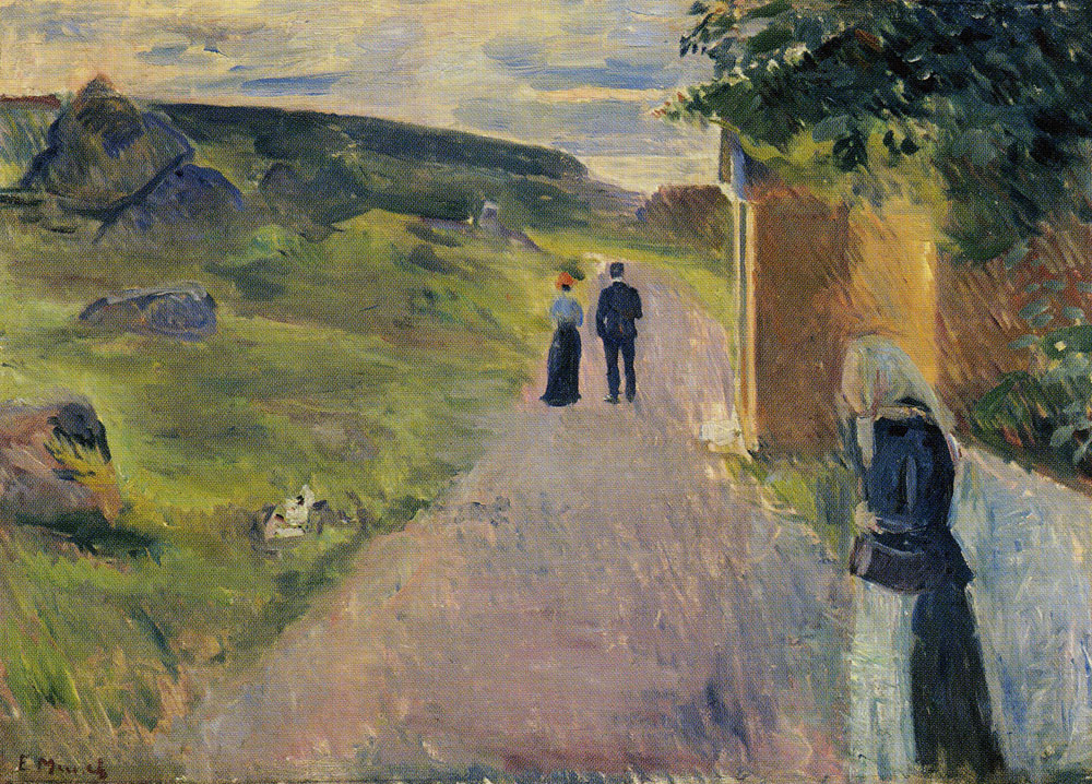 Edvard Munch - Eroticism on a Summer Evening