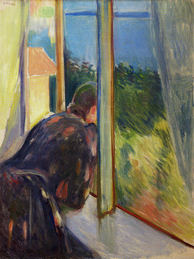 Edvard Munch - Inger by the Window