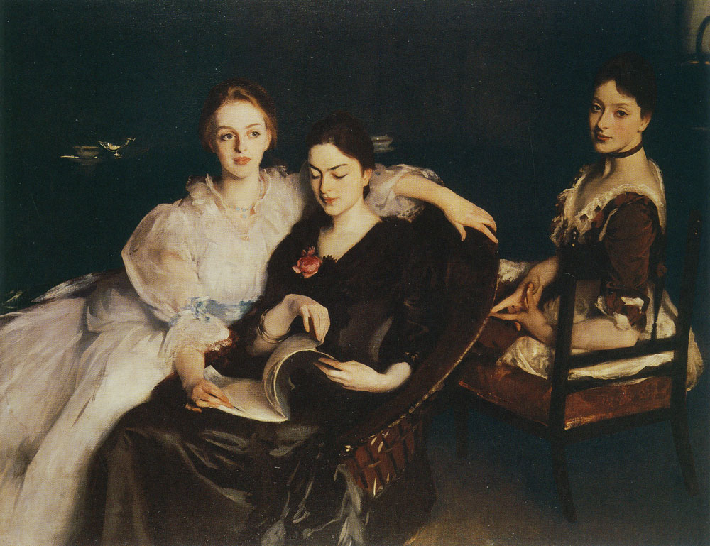 John Singer Sargent - The Misses Vickers
