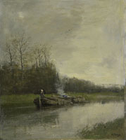 Anton Mauve Shipping Canal