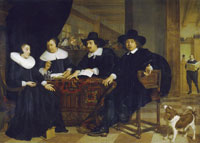Bartholomeus van der Helst Two Governors and two Lady Governors of the Spinhuis