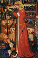 Dante Gabriel Rossetti Before the Battle