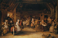 David Wilkie The Penny Wedding