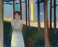 Edvard Munch Summer Night's Dream, the Voice