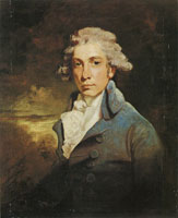 John Hoppner Portrait of Richard Brinsley Sheridan