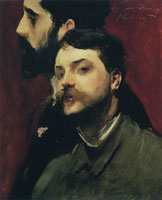 John Singer Sargent François Flameng and Paul Helleu
