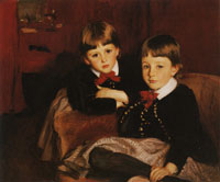 John Singer Sargent The Sons of Mrs Malcolm Forbes