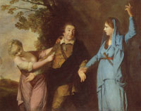 Joshua Reynolds Garrick between Comedy and Tragedy
