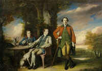 Joshua Reynolds - The Honorable Henry Fane with Inigo Jones and Charles Blair