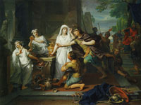 Nicolaas Verkolje Orestes and Pylades in Tauris
