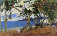 Paul Gauguin Saint-Pierre Roadstead