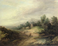 Thomas Gainsborough Wooded Upland Landscape