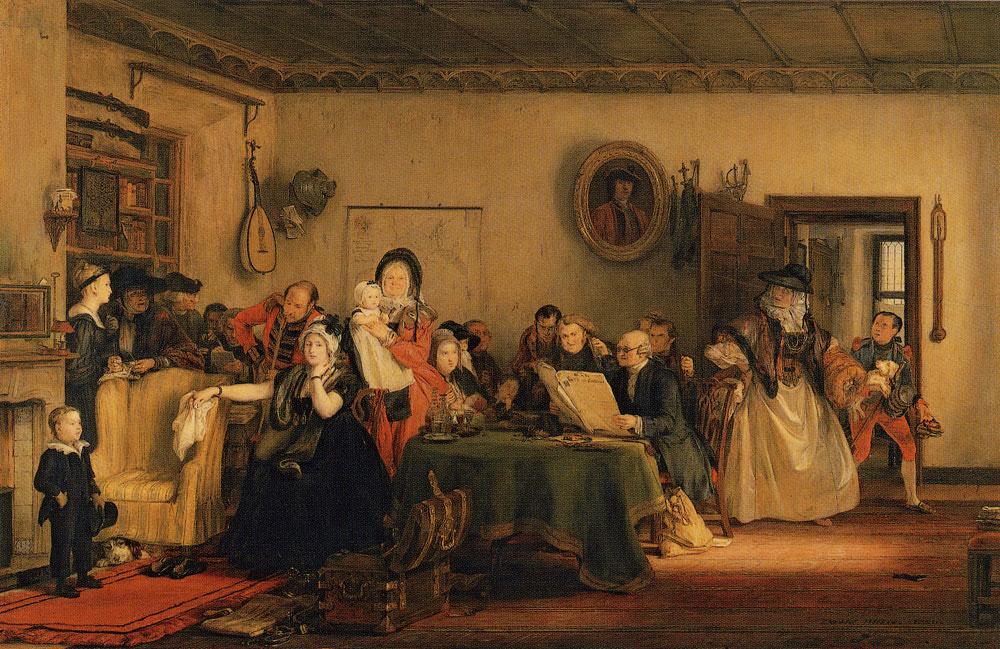 David Wilkie - The Reading of a Will