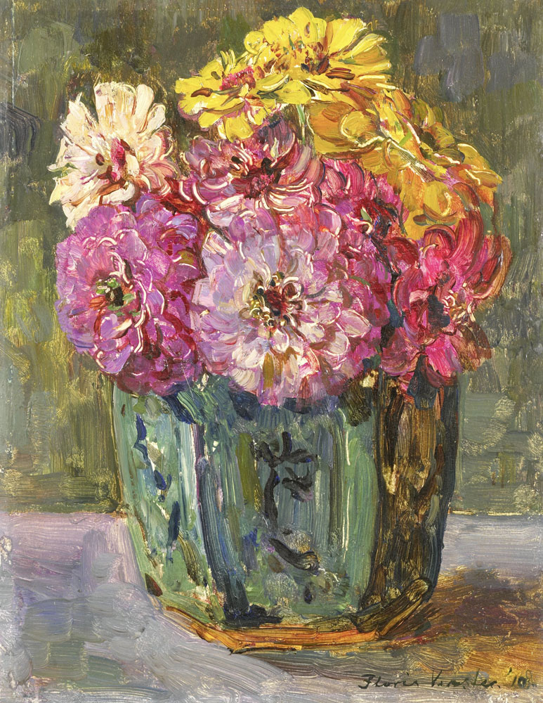 Floris Verster - Flower Still Life