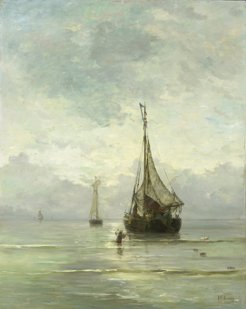 Hendrik Willem Mesdag - Calm Sea