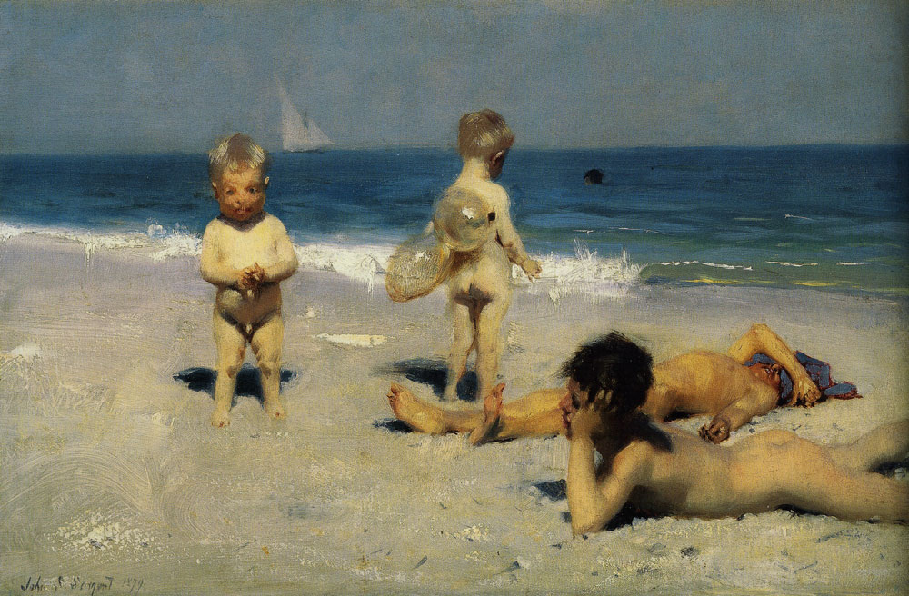 John Singer Sargent - Neapolitan Children Bathing