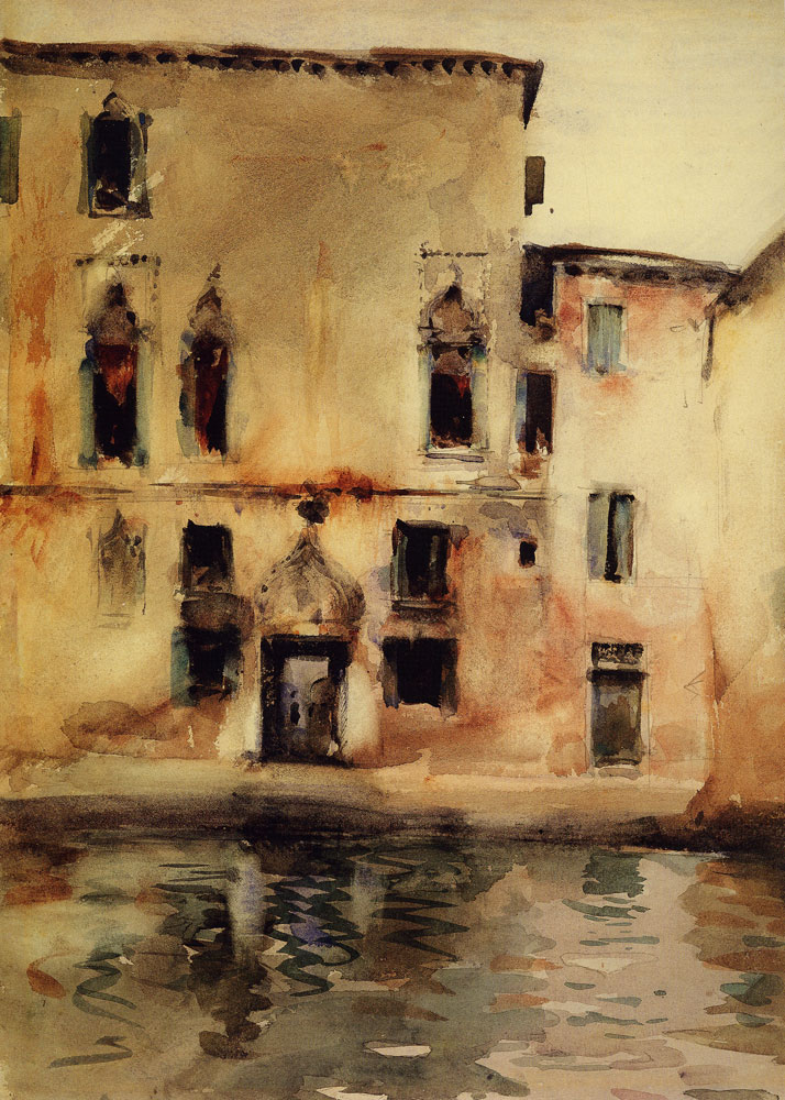 John Singer Sargent - Palazzo Marcello