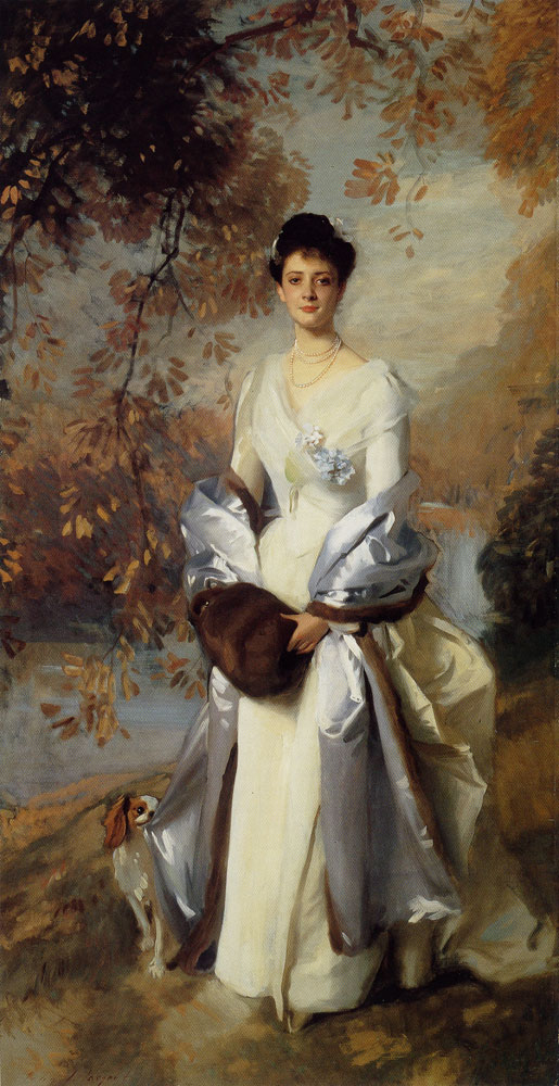 John Singer Sargent - The Honourable Pauline Astor
