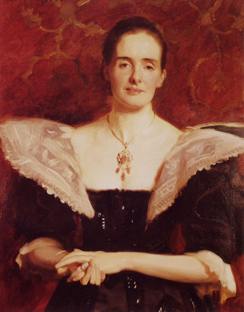 John Singer Sargent - Mrs William Russell Cooke