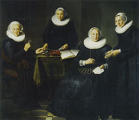 Dirck Dircksz. van Santvoort The governesses and wardresses of the Spinhuis
